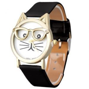 Cat With Glasses Watch NWOT